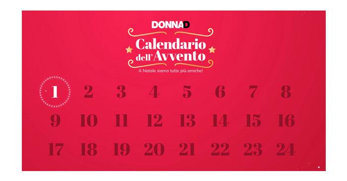 Concorso Calendario Avvento Donnad