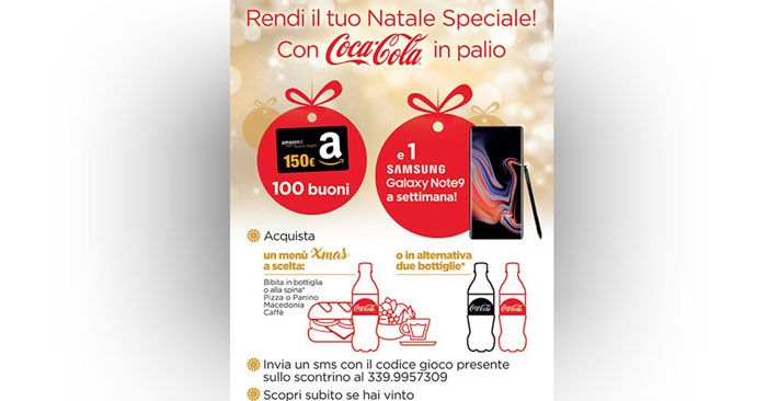 Concorso Coca Cola e My Chef