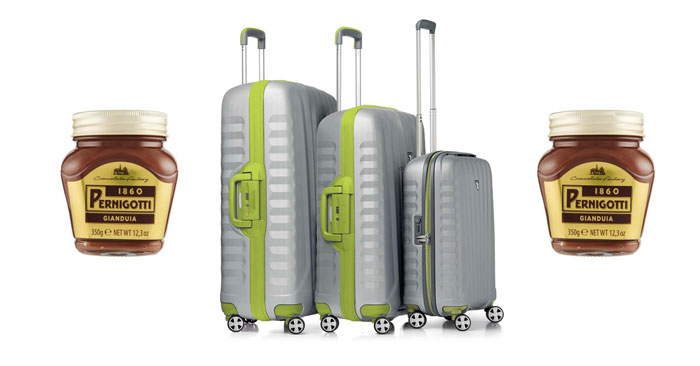 Concorso Pernigotti: vinci 100 set di valigie RV RONCATO