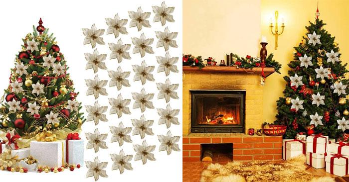 Decori particolari per l'albero di Natale