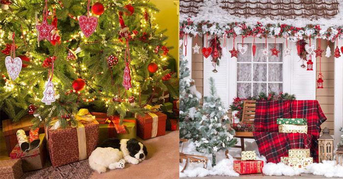 Ornamenti in legno per Natale