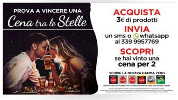 Vinci una cena fra le stelle con Coca-Cola