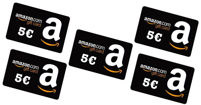Amazon ti regala un buono spesa da 5€