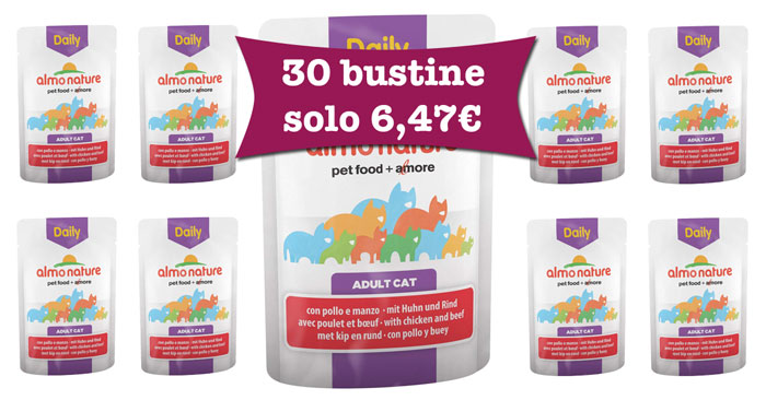 Almo Nature Daily gatto offerta