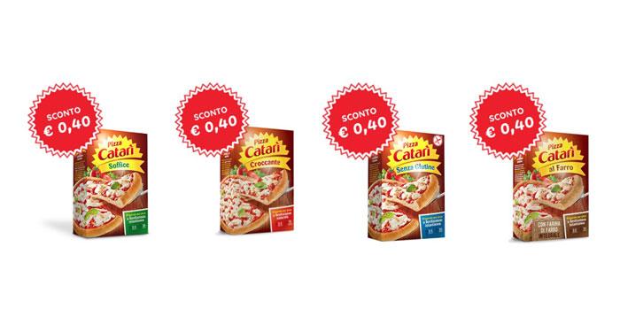 Buoni sconto Pizza Catarì