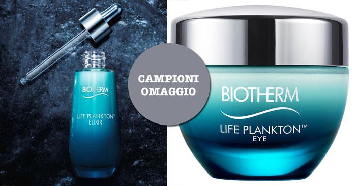 Campioni omaggio Life Plankton Biotherm