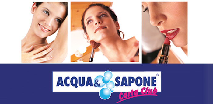 Carta Club Acqua&Sapone