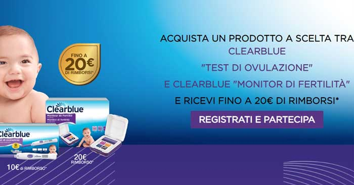 Cashback Clearblue