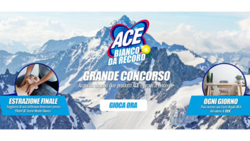 """Concorso Ace """"Bianco da record"""""""