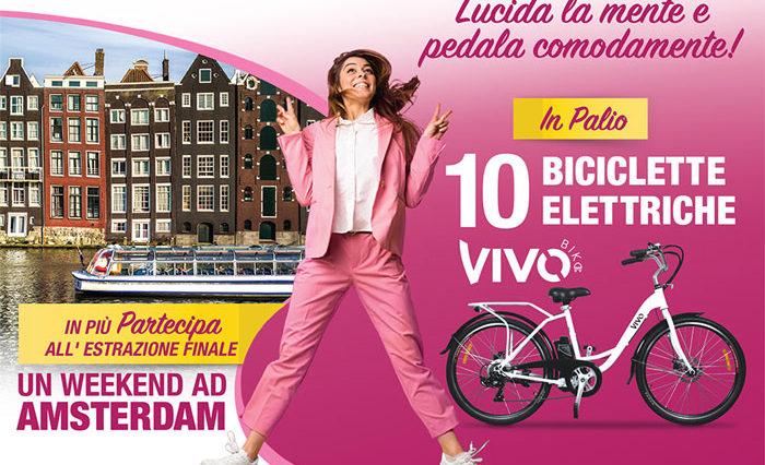 Concorso Acutil Donna: vinci Amsterdam e biciclette elettriche