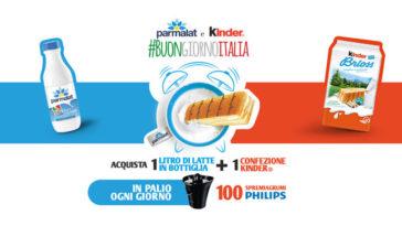 """Concorso """"Buongiorno Italia"""" Ferrero e Parmalat"""