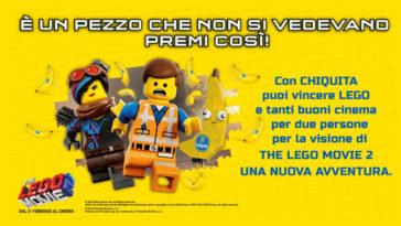 Concorso Chiquita: vinci Lego Bric e buoni cinema