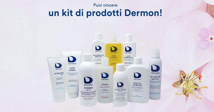 Concorso Dermon: vinci super forniture di prodotti