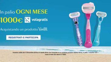 Concorso Gillette Venus: vinci Volagratis