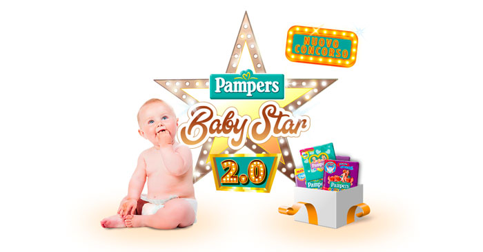 Concorso Pampers Baby Star 2.0