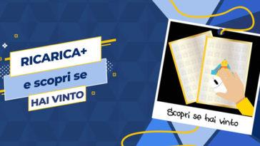 """Concorso Tim """"Ricarica + e Vinci 2019"""""""