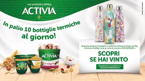 "Concorso ""Vinci Chilly's bottle con Activia"""