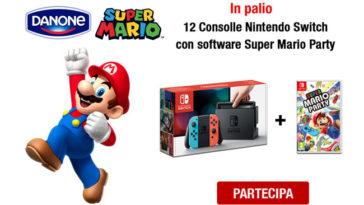 """Concorso """"Vinci Nintendo con Danone 2019"""""""