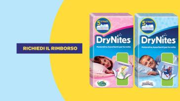 DryNites ti rimborsa