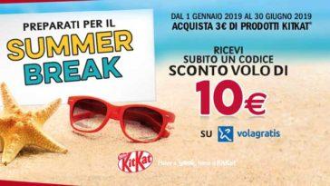 KitKat ti regala 10€ Volagratis