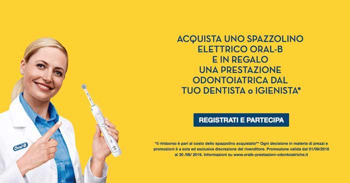 Oral-B ti regala una visita odontoiatrica