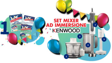 Panenageli: vinci ogni ora un mixer Kenwood