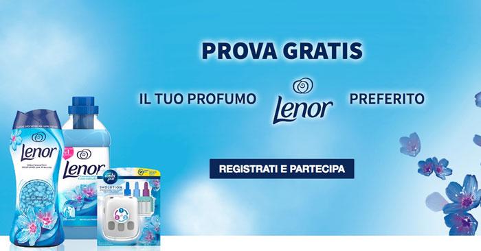 Prova gratis Lenor