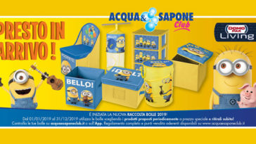 Raccolta bolle 2019 Acqua&Sapone