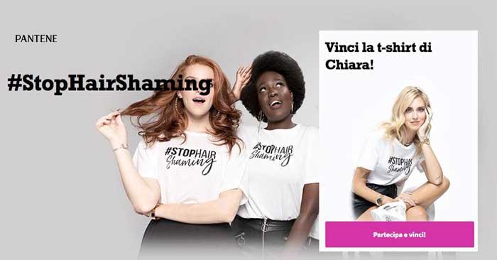 Vinci la T-Shirt di Chiara Ferragni