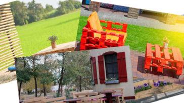 Pallet: riciclo giardino