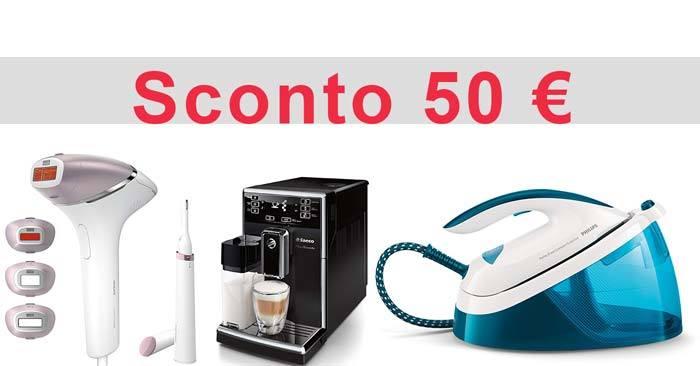 Sconto Philips 50€