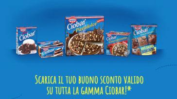 Buono sconto Ciobar tutti i prodotti!