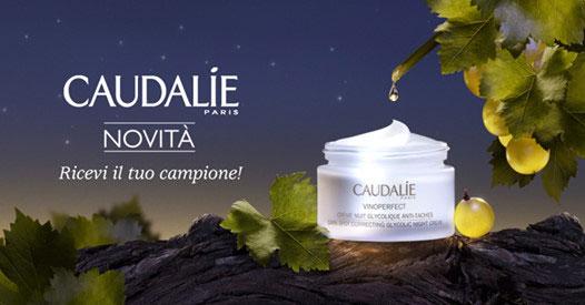 Campione omaggio Caudalie crema Notte Glicolica Anti-Macchie
