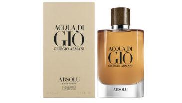 Campioni omaggio Acqua di Giò Absolu