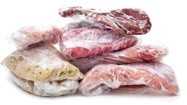 Carne congelata: per quanto si conserva?