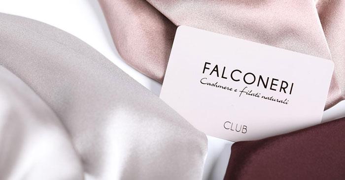 Carta fedeltà Falconeri Club