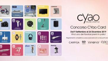 Concorso Cyao Card: vinci scooter, viaggi, biciclette