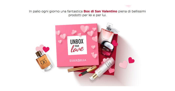 "Concorso Esserbella ""Unbox Your Love"""
