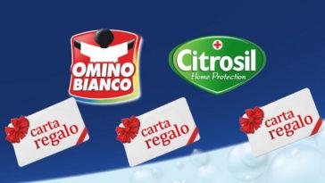 """Concorso """"Premiati con Omino Bianco e Citrosil"""""""