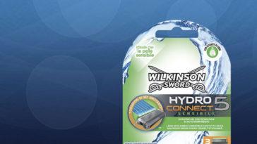 Diventa tester Wilkinson Sword Hydro 5 Connect Sensibile