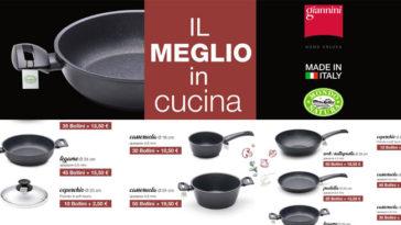 Maxi Supermercati: pentole Nerida Giannini
