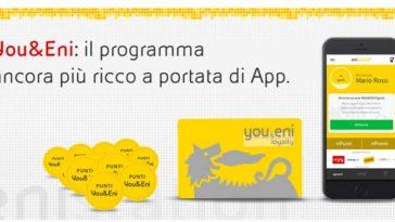 Programma You&Eni catalogo