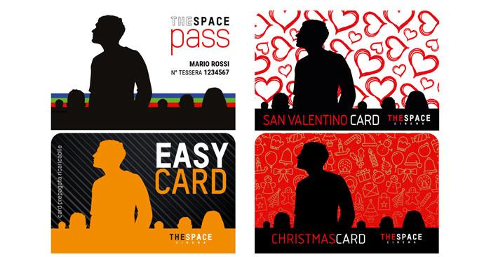 The space cinema: sconti card