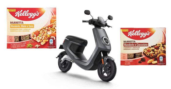 Vinci scooter elettrico Kellogg's
