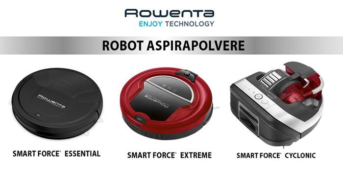 Diventa tester robot Rowenta Smart Force