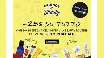 promo Friends and Family