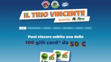 """Concorso """"Il trio vincente – speciale Alì"""""""