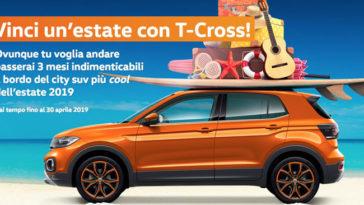 """Concorso """"Vinci l'estate con T-Cross"""": solo residenti in Friuli V.G."""