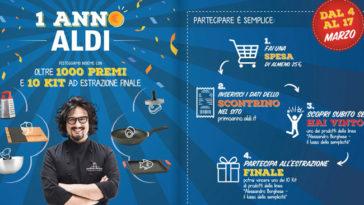 Concorso compleanno Aldi Supermercati