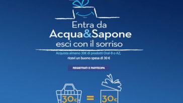 Entra in Acqua & Sapone, esci con il sorriso
